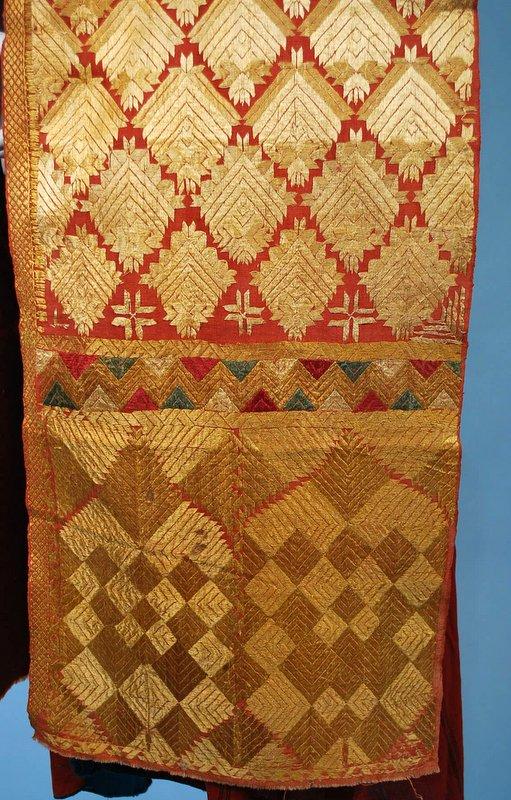Antique phulkari bagh chadar embroidered wedding