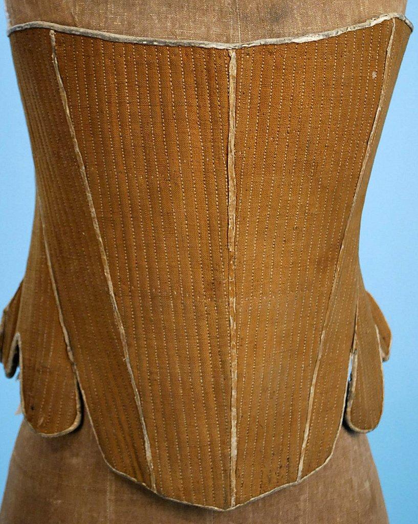 18th Century Rare Linen Amp Whalebone Stay Corsetsold